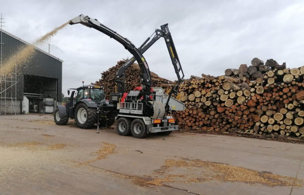 contract wood chipping
