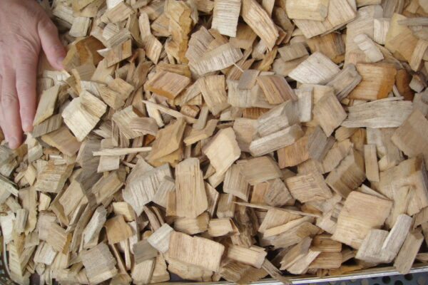 how much wood chips do I need